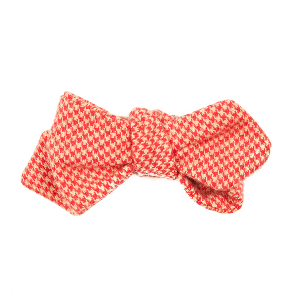 Cornfed Houndstooth Bow Tie