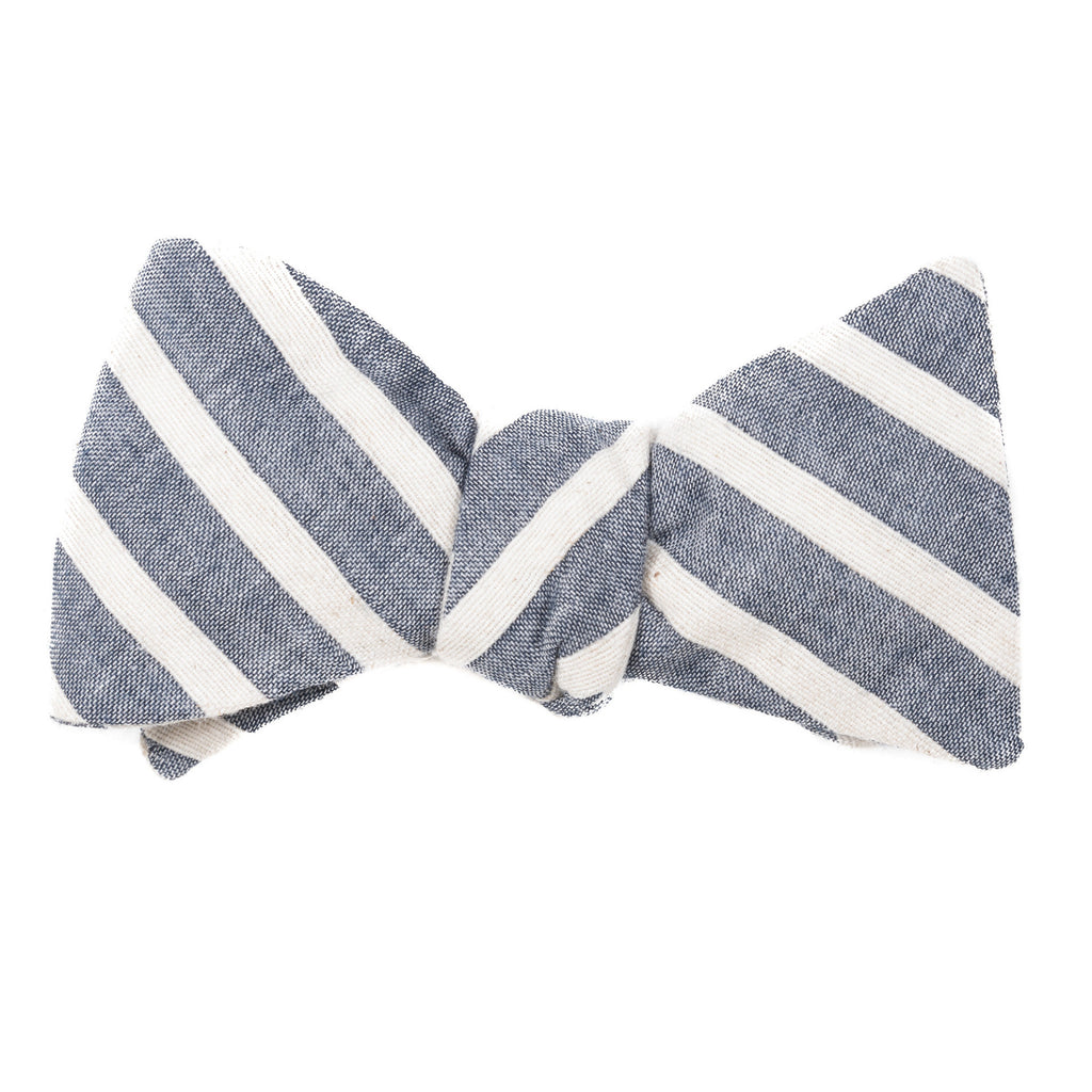 Regatta Wide Striped Bow Tie