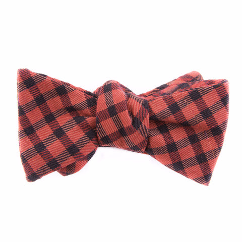 Buffalo Check Bow Tie