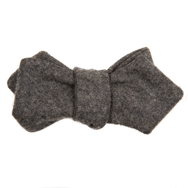 Silver Fox Heathered Gray Bow Tie