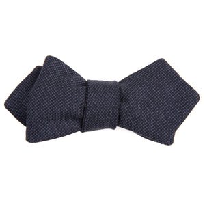 Nail on the Head Navy Pin Dot Bow Tie