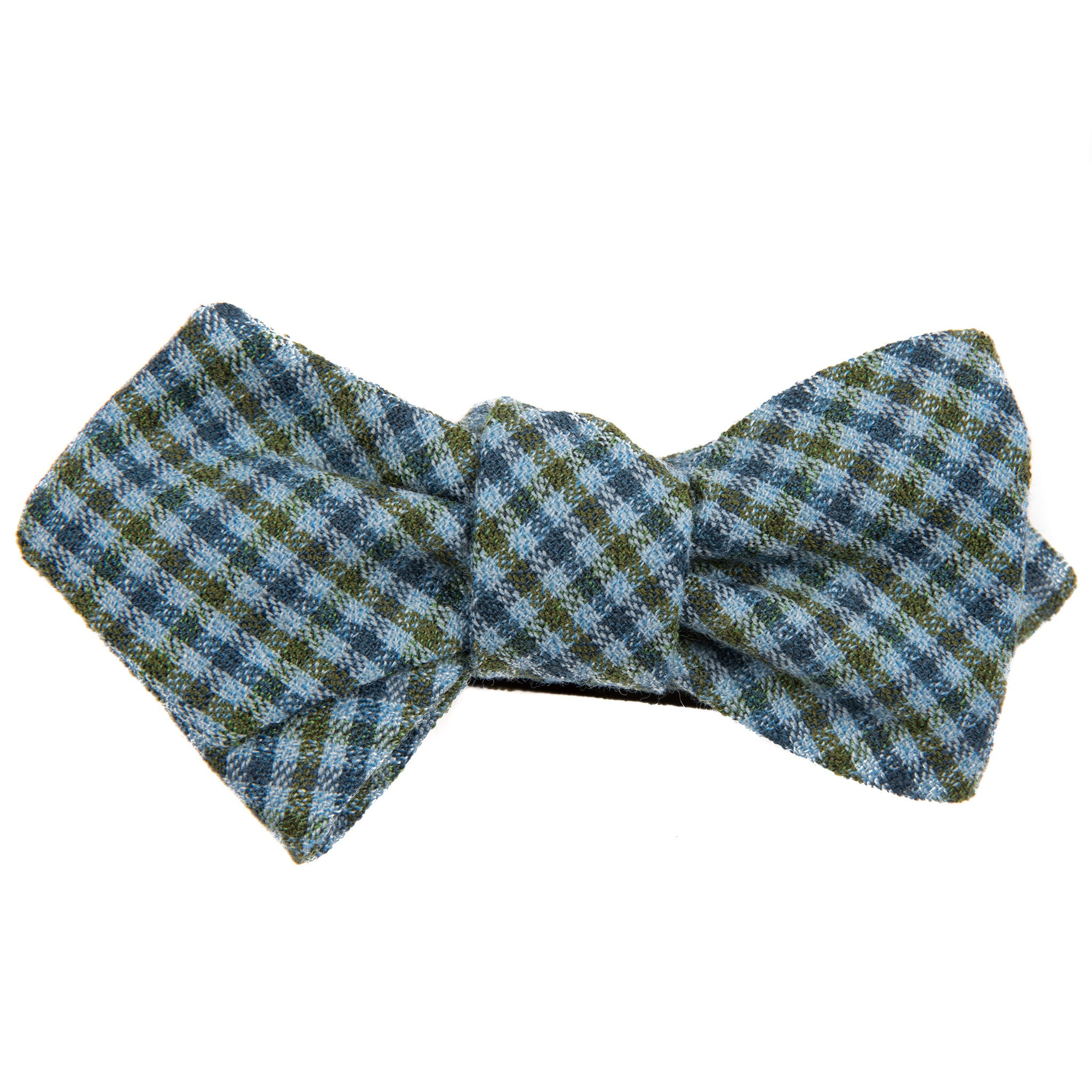 1980's Nighttime Check Bow Tie