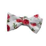 1950's Rose Garland Bow Tie
