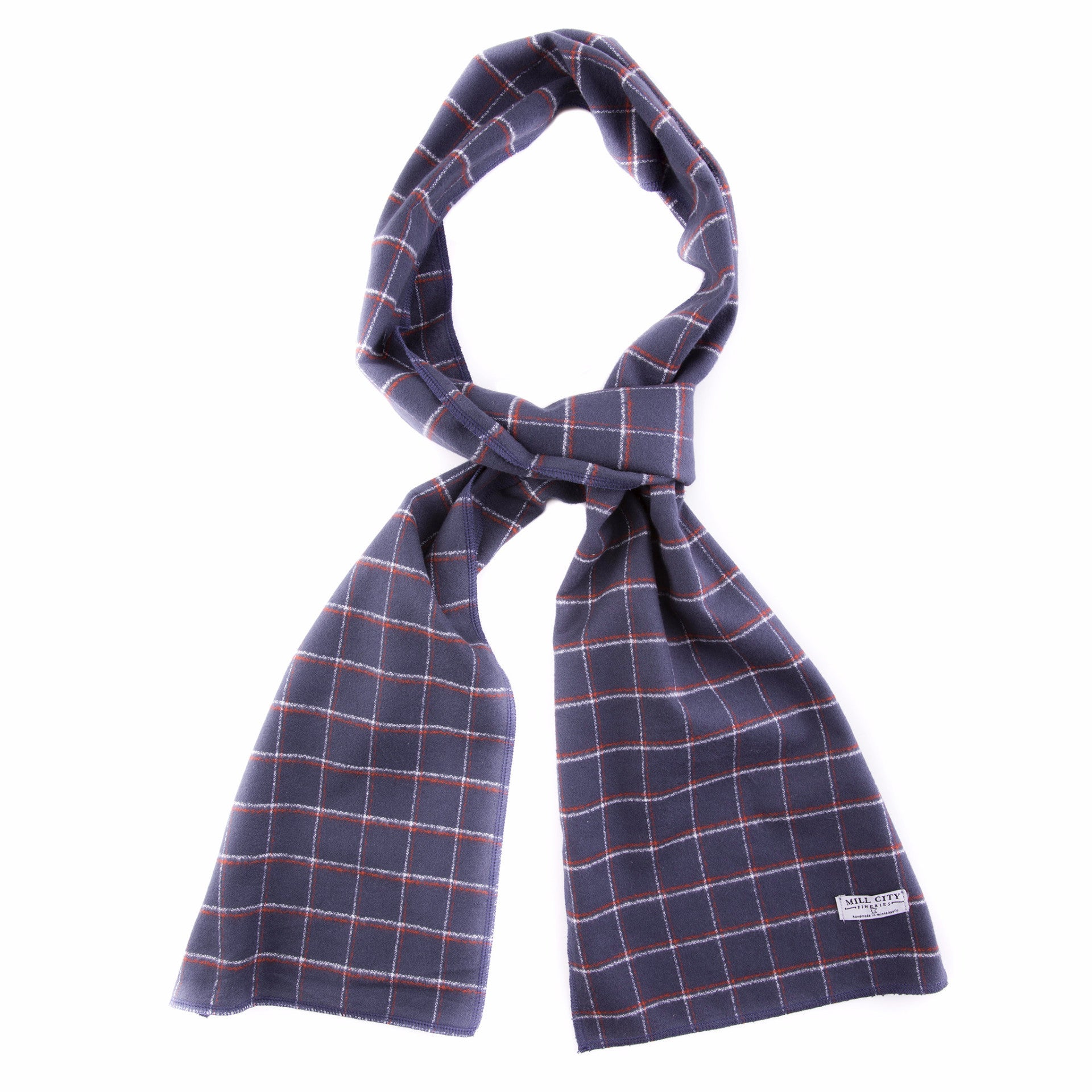 Ambassador Plaid Flannel Scarf