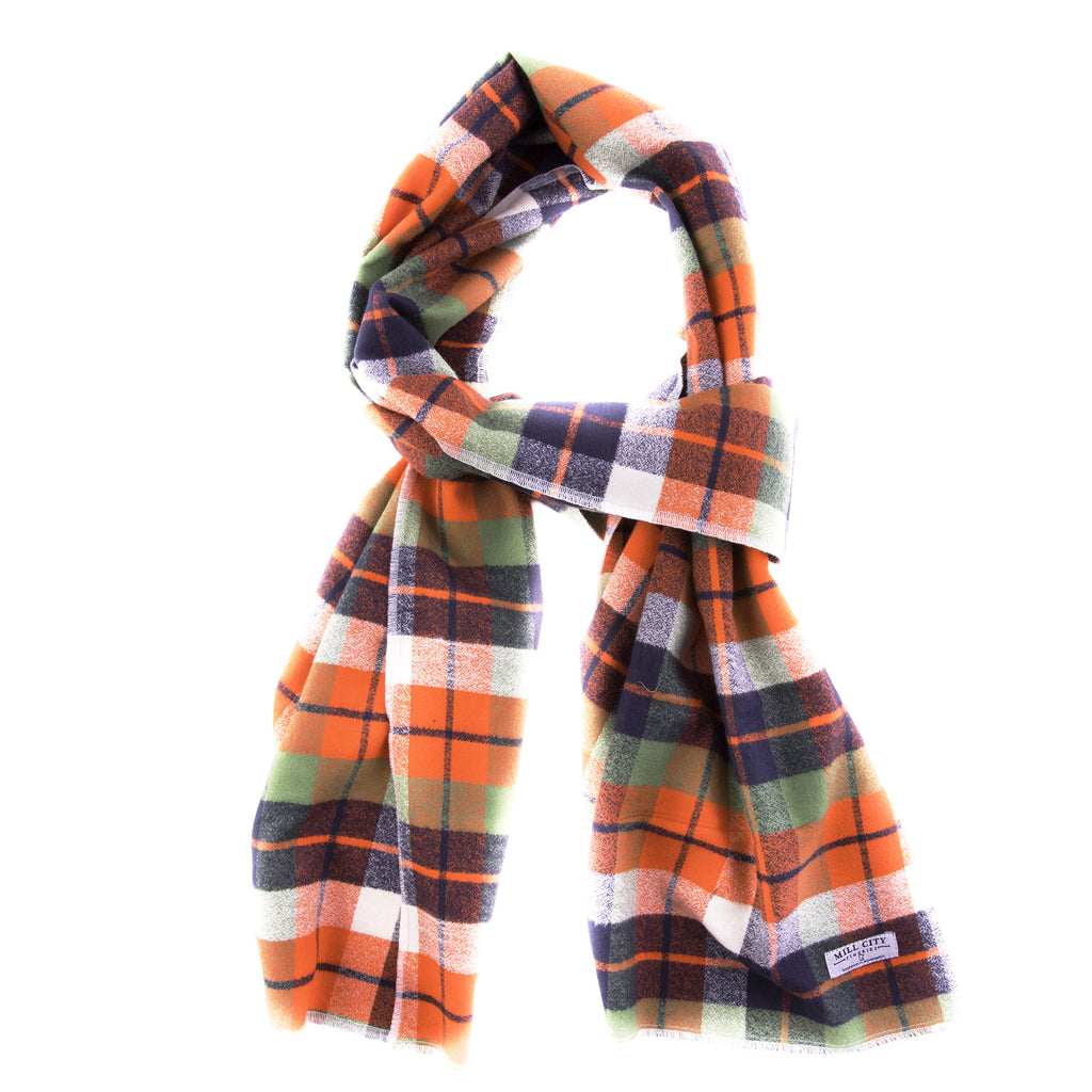 Adventure Flannel Cotton Scarf (Wide)
