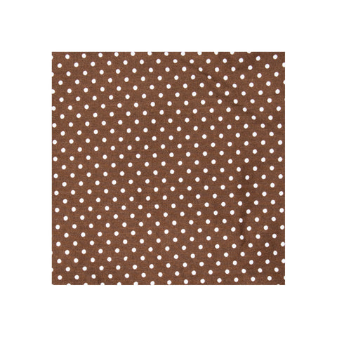Chocolate Dot Pocket Square