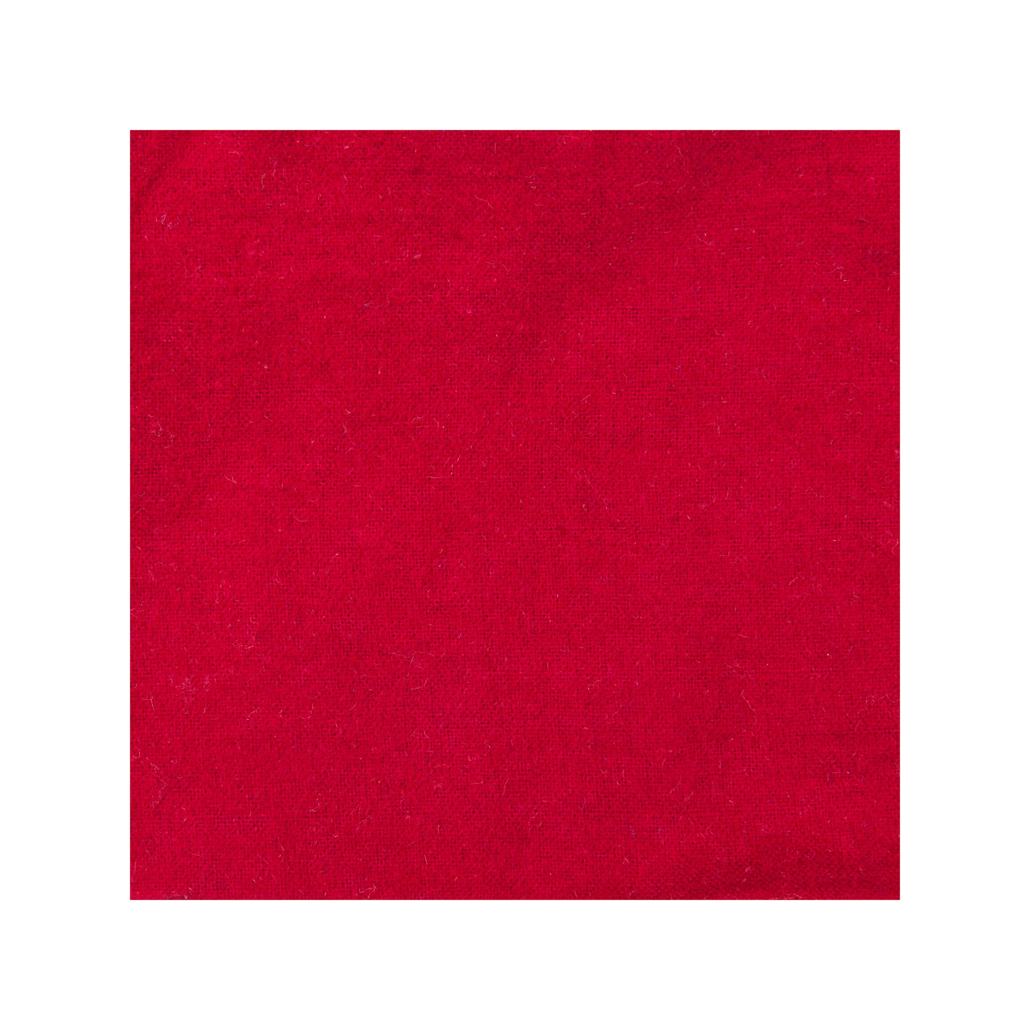 Red Flannel Pocket Square