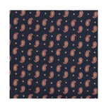 Explorer Japanese Paisley Pocket Square