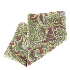 Berkshire Place Paisley Pocket Square