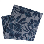 Tropical Evening Floral Pocket Square