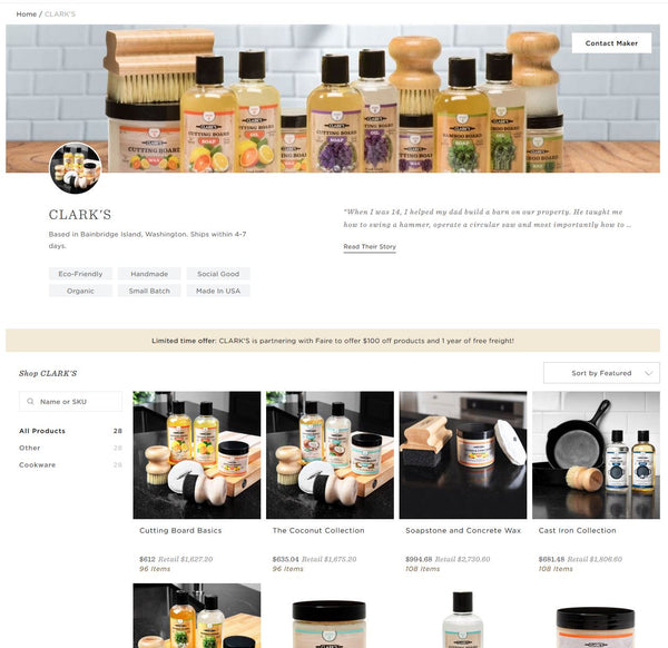 CLARK'S Wholesale Program