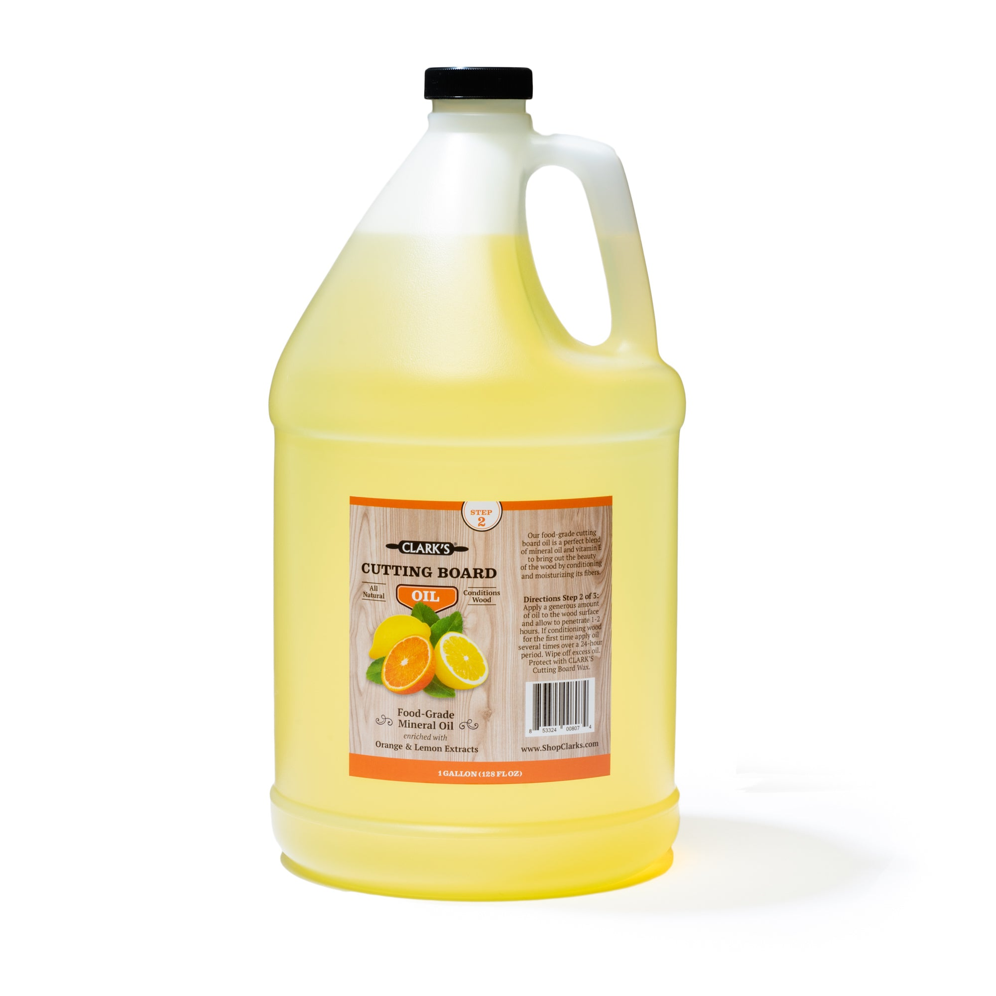 Clark S Butcher Block Oil Orange And Lemon Gallon Clark S Online Store