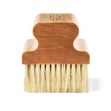 CLARKS Large Surface Scrub Brush - Tampico Fibers & USA Maple