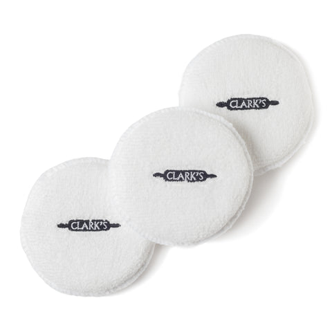 CLARK'S Wax Buffing Pads for Cutting Board & Soapstone Wax (3pk)