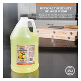 CLARK'S Butcher Block Oil - Orange and Lemon Scent (1 Gallon)
