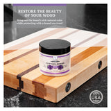 CLARK'S Cutting Board Finish Wax & Conditioner 6oz | Lavender & Rosemary Scent