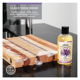 CLARK'S Cutting Board Soap 12oz | Lavender & Rosemary Scent