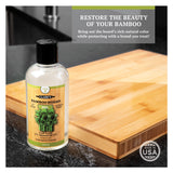 CLARK'S Bamboo Cutting Board Oil - Lemongrass Extract Enriched