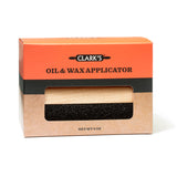 CLARK'S Large Oil & Wax Applicator (Hardwood and made in USA)