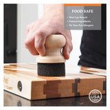 CLARK'S Cutting Board Finishing Kit - Orange and Lemon Scent
