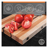 CLARK'S Glueless Modular Hardwood Cutting Board - The Chef