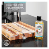 CLARK'S Coconut Cutting Board Soap - All Natural Castile Based