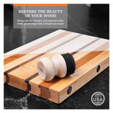 CLARK'S Oil & Wax Applicator for Wood Surfaces