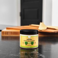 CLARK'S Bamboo Cutting Board Wax - Lemongrass Extract Enriched