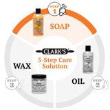 CLARK'S Cutting Board Soap - Orange & Lemon Extract Enriched