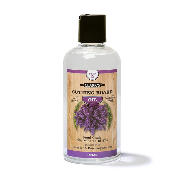 CLARK'S Cutting Board Oil with Lavender & Rosemary Extracts