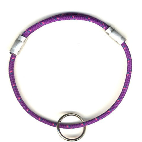 purple adjustable cat safety collar