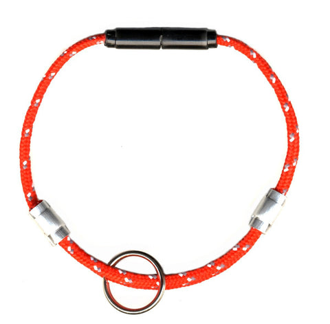 red adjustable breakaway cat safety collar