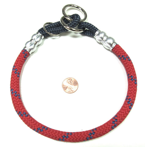 red mountain rope dog training collar