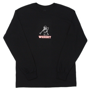 Varsity Angel Longsleeve (Black)