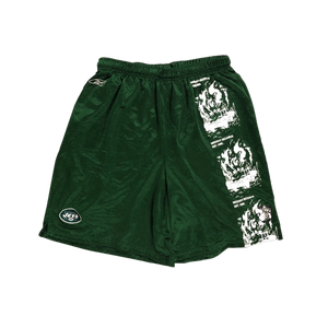 Car Crash Mesh Shorts - Green