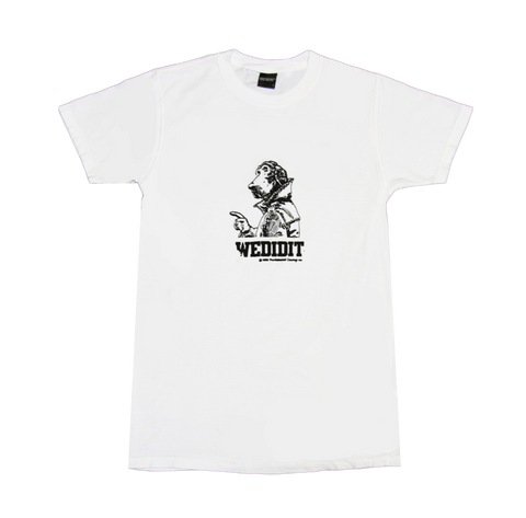 CrimeDog White Tee