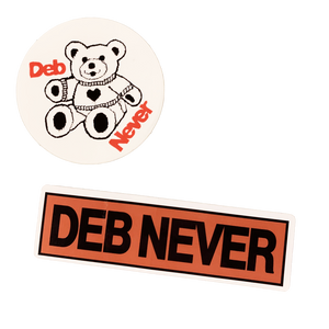 DEB NEVER STICKER PACK