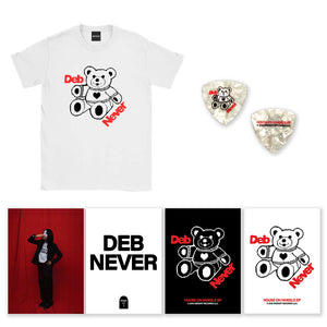 DEB NEVER BUNDLE (TEE + POSTER PACK + PICK)