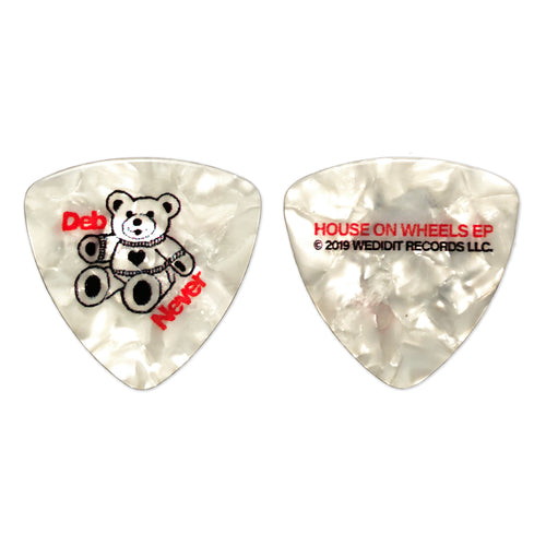 DEB NEVER GUITAR PICK