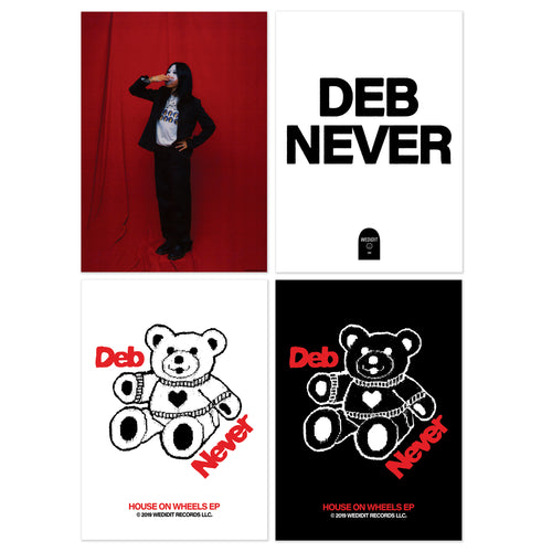 DEB NEVER POSTER PACK