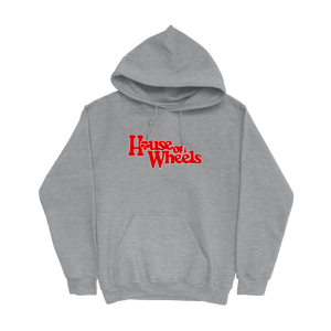 HOUSE ON WHEELS HOODIE - GREY