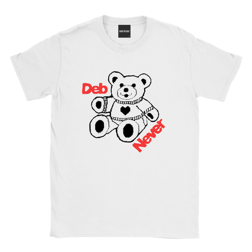 DEB NEVER TEDDY BEAR TEE
