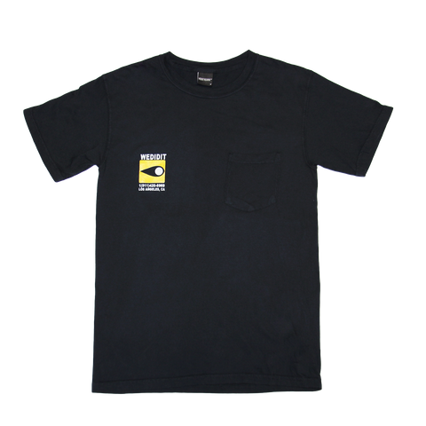 Secret Smoke Black Tee