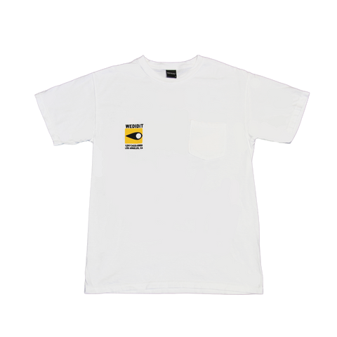 Secret Smoke White Tee