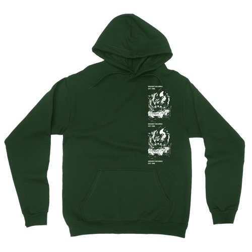 Car Crash Hoodie - Green