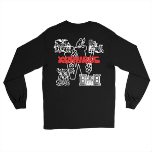 Wedidit Records Long Sleeve - Black
