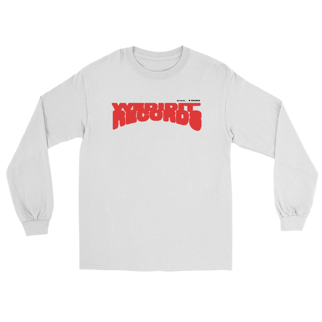 Wedidit Records Long Sleeve - White