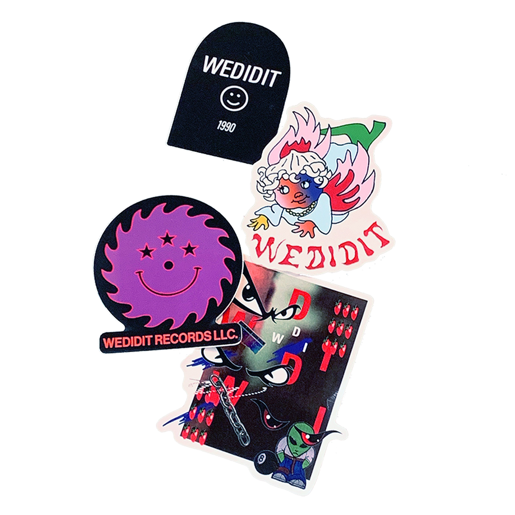 2019 WEDIDIT STICKER PACK
