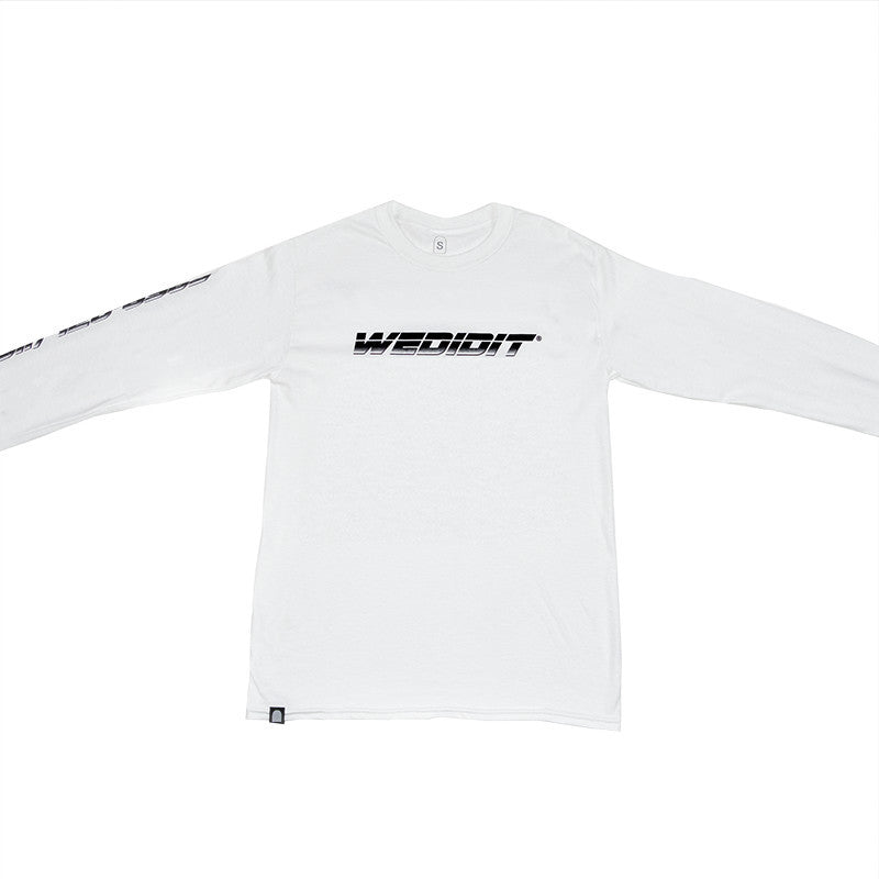 Hardware Long Sleeve - White