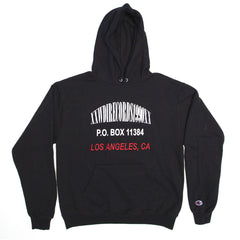 Broken Address Hoodie - Black